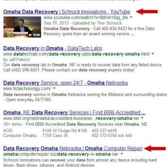 Schrock Innovations Data Recovery