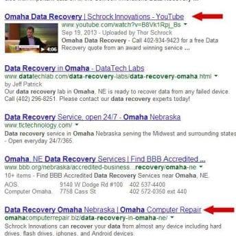 omaha seo data Recovery