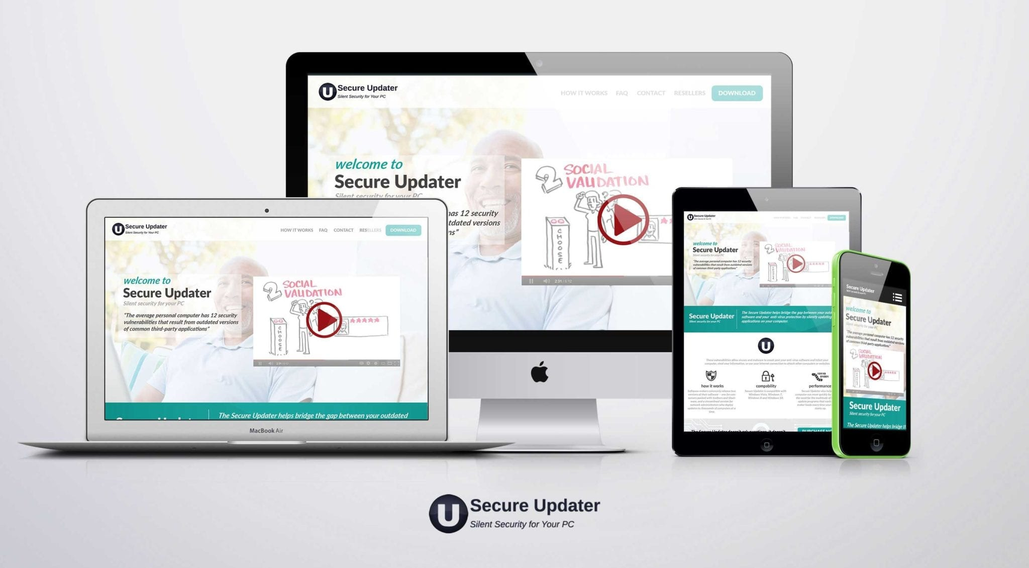 secure updater software development omaha