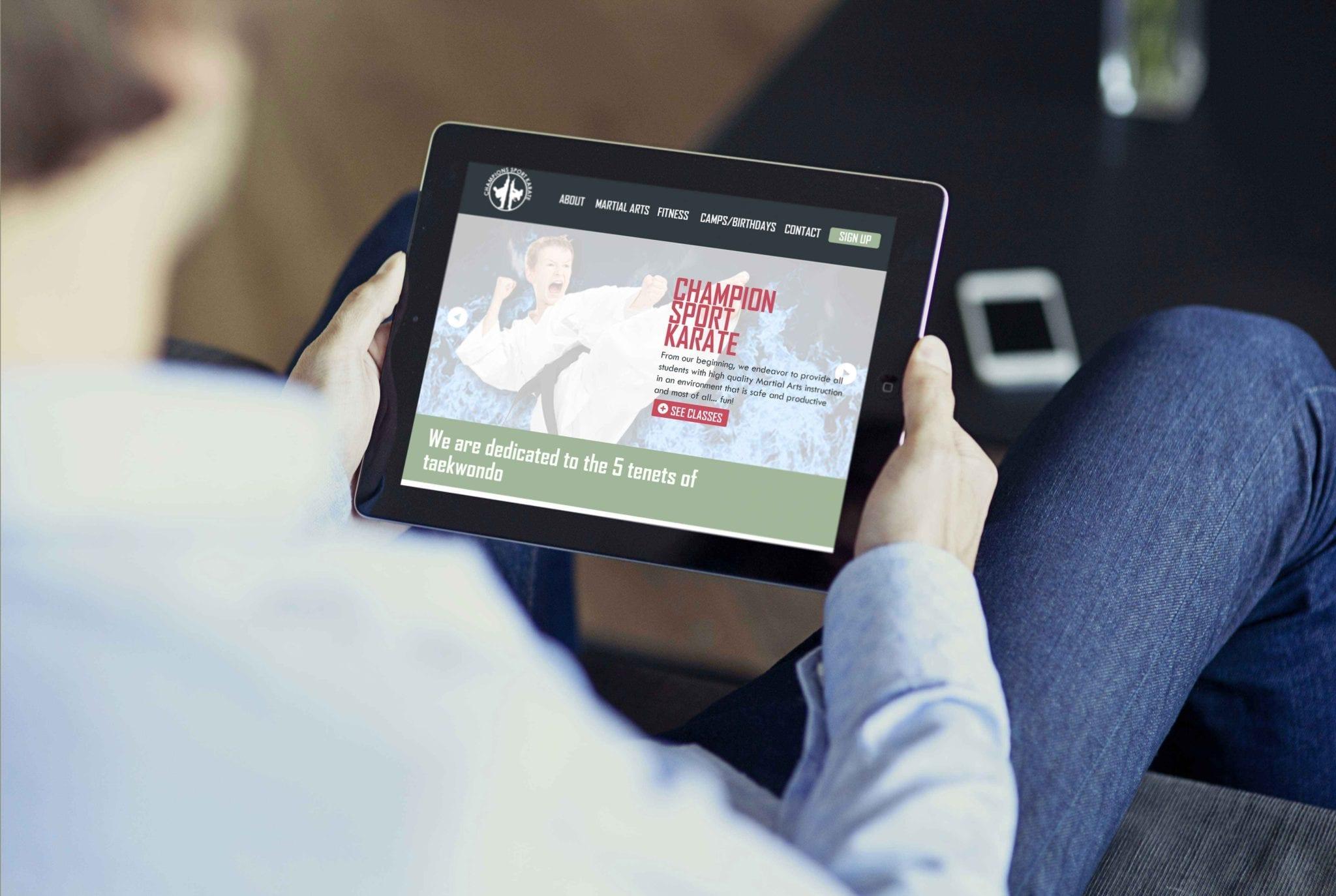 schrock interactive portfolio csk responsive ipad
